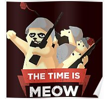 The Time Is Meow Poster