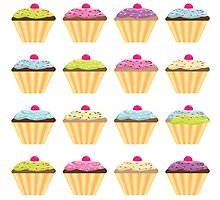Cupcakes card by katmac