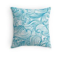 Motion Of The Ocean Throw Pillow