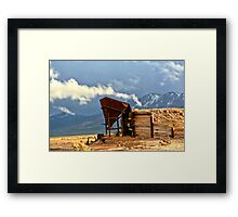 East Mill Framed Print