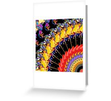 Abstract Collage of Colors 1 Greeting Card