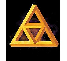 Triforce Paradox Photographic Print