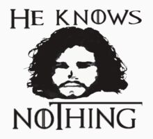 He knows nothing... by greatbritton99