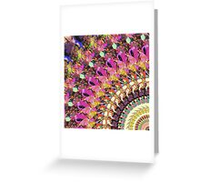 Abstract Collage of Colors 4 Greeting Card