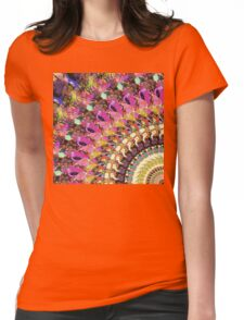 Abstract Collage of Colors 4 Womens Fitted T-Shirt