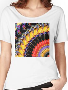 Abstract Collage of Colors 1 Women's Relaxed Fit T-Shirt