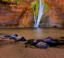 Lower Calf Creek Falls by Thomas Peter