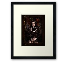 Lady Steampunk Framed Print