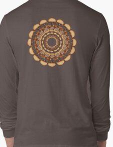 Rusty Skull mandala  Long Sleeve T-Shirt