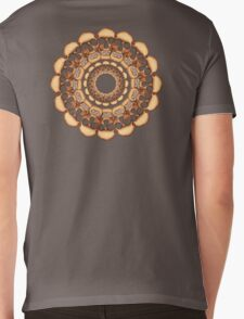 Rusty Skull mandala  Mens V-Neck T-Shirt