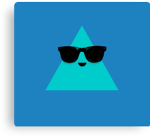 Cool Triangle Canvas Print