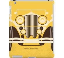 No206 My The Great Gatsby minimal movie poster iPad Case/Skin