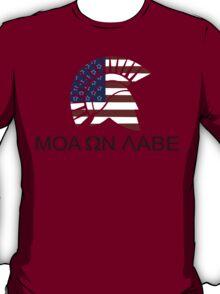 Molon labe funny geek nerd T-Shirt