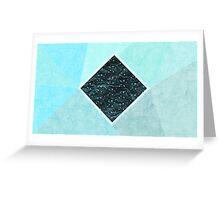 Geometric sky Greeting Card