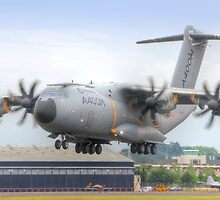 Airbus A400M Atlas Landing - Farnborough 2014 by Colin  Williams Photography