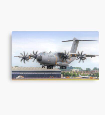 Airbus A400M Atlas Landing - Farnborough 2014 Canvas Print