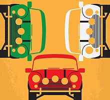 No279 My The Italian Job minimal movie poster by JiLong