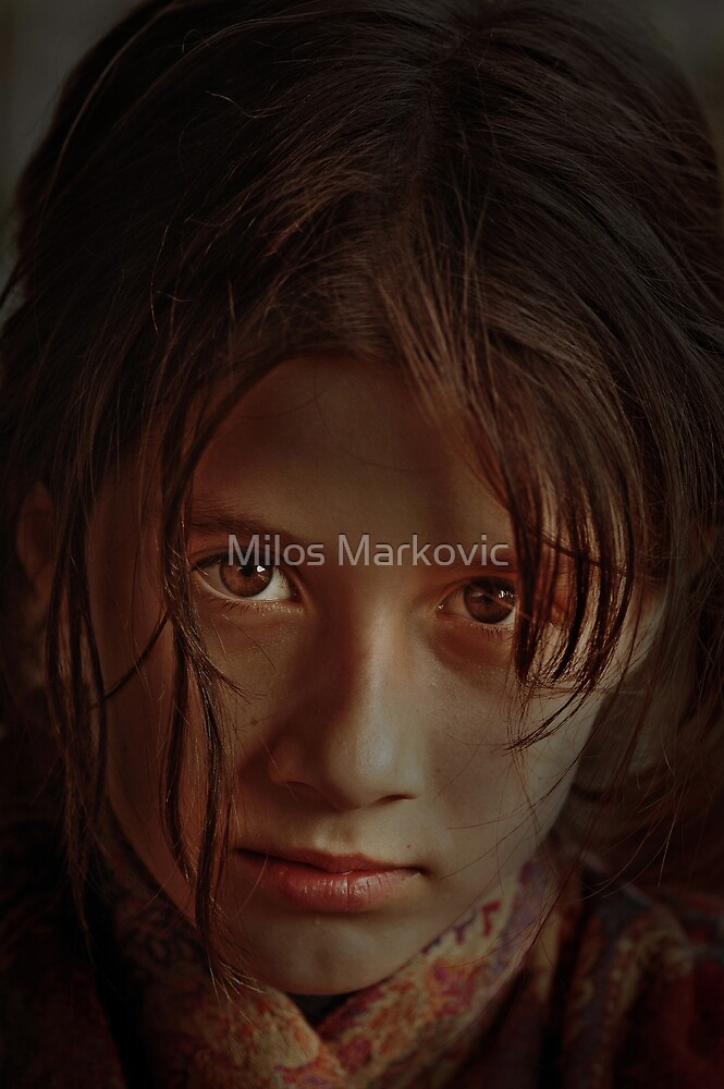 Sunshine in Her Eyes by Milos Markovic