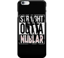 Straight Outta Nublar iPhone Case/Skin