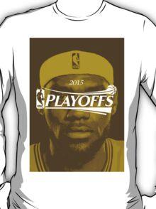Lebron James, 2015 Playoffs T-Shirt
