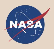 Nasa logo funny geek nerd by superfeb