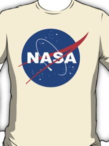 Nasa logo funny geek nerd T-Shirt