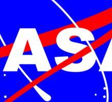 Nasa logo funny geek nerd Sticker
