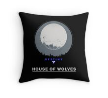 Destiny - House of Wolves Throw Pillow