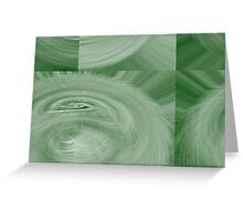 Green Whisper Greeting Card