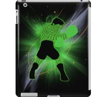 Super Smash Bros. Little Mac Wire Frame Silhouette iPad Case/Skin