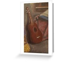 U is for Ukulele Greeting Card