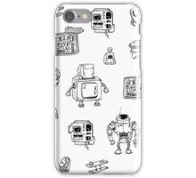 Robots iPhone Case/Skin
