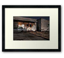 Gas Station 3 Framed Print