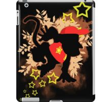 Super Smash Bros. Diddy Silhouette iPad Case/Skin