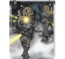 Electronic Rabbit Fighters [Digital Science-Fiction Drawing] iPad Case/Skin