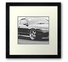 JDM S15 Framed Print