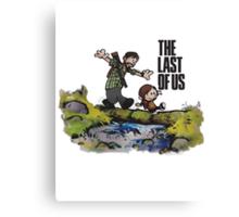 The Last of Us - Joel Ellie Canvas Print