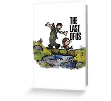 The Last of Us t shirt, iphone case & more Greeting Card
