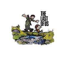The Last of Us t shirt, iphone case & more Photographic Print