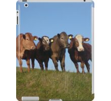 And the Cows in the Meadow go 'Moo!' iPad Case/Skin