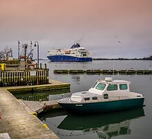 Yarmouth to Maine Ferry by mlphoto