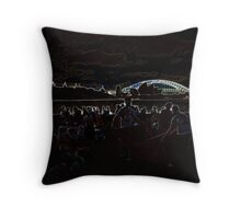 Abduction Afterglow Throw Pillow
