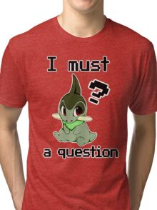 I Must Axew a Question Tri-blend T-Shirt