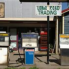 Petrol Pumps by Richard Hill