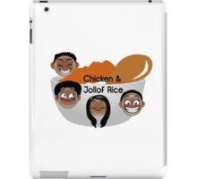 Chicken & Jollof Rice show logo iPad Case/Skin