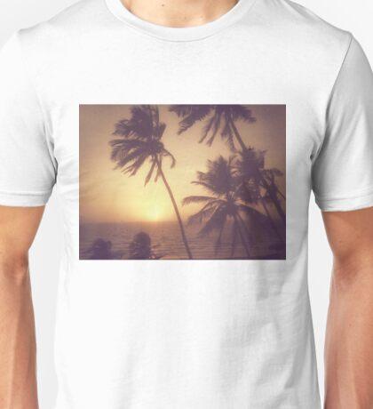 Sand, Beach, Sunset Unisex T-Shirt