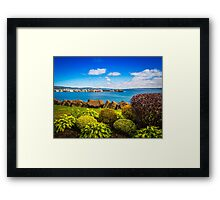 Digby Habour Seafront Framed Print
