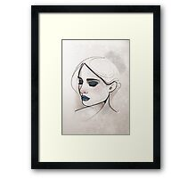 Blue.  Framed Print