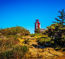 Point Prim Lighthouse by mlphoto