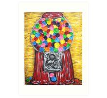 """Bubblegum Machine"" Art Print"